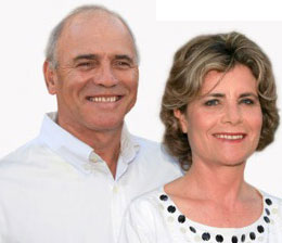Christo and Sharon van Rensburg